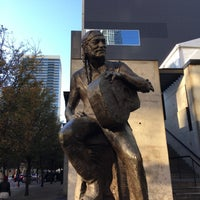 Photo taken at Willie Nelson Statue by Clay D. on 12/10/2017