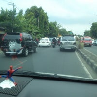 Photo taken at Jalan Raya Bogor by Yusmy Amaleka P. on 9/15/2013