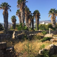 Photo taken at Ancient Agora by Fatih S. on 8/27/2017