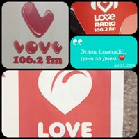 Photo taken at Loveradio NSK by Павел Ж. on 7/24/2014