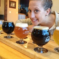 Photo taken at Broken Compass Brewing by William D. on 8/10/2014