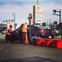 Photo taken at San Mateo Car Wash by Brad B. on 3/8/2014