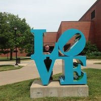 Photo taken at Wichita State University by Adam C. on 9/14/2013