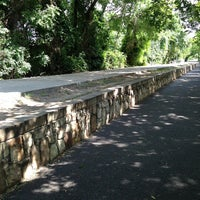 Photo taken at Katy Trail by Adam C. on 7/8/2013