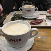 Photo taken at Costa Coffee by Илья Г. on 3/14/2017