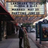 Photo taken at Landmark Theatre by Erin M. on 6/22/2013