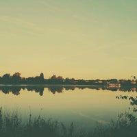 Photo taken at Ozolnieku ezers (Ozolnieki Lake) by Antons M. on 9/14/2016