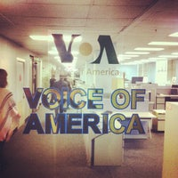 Photo taken at Voice of America by Denis N. on 10/18/2012