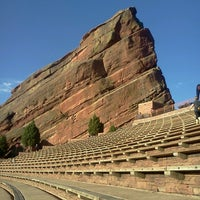 Photo taken at Red Rocks Park & Amphitheatre by Mya M. on 6/8/2013