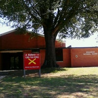 Photo taken at National Guard Armory by Fuzzy Monkey Socks on 10/9/2012