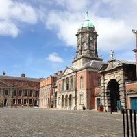 Photo taken at Dublin Castle by Tzzy I. on 5/5/2013