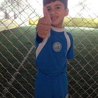 Photo taken at Hamilka Arena Soccer by Edcleuma N. on 4/20/2013