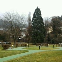 Photo taken at Kurpark Bad Liebenzell by Сергей Ш. on 12/18/2016