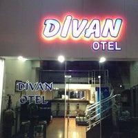 Photo taken at Divan Otel by Onur K. on 7/14/2013