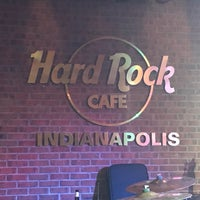 Photo taken at Hard Rock Cafe Indianapolis by Ken B. on 6/8/2017