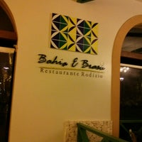 Photo taken at Restaurante Bahia & Brasa Grand Palladium by Roberto H. on 9/7/2013