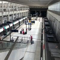 Photo taken at Aéroport Charles de Gaulle TGV Railway Station by Laurent D. on 7/25/2013