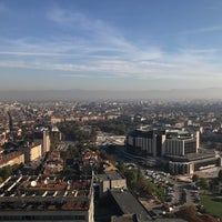 Photo taken at The View Restaurant Sofia by Viktor T. on 10/17/2017