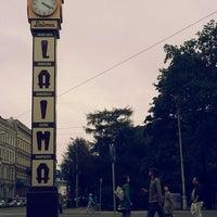 Photo taken at Laimas Pulkstenis   Laima clock by Justs C. on 7/23/2013