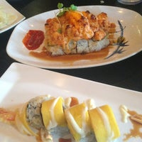 Photo taken at Sam's Sushi by Lauren A. on 8/2/2013