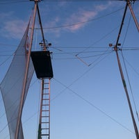 Photo taken at Trapeze School New York by Dustin C. on 5/13/2013