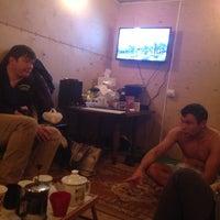 Photo taken at баня BBQ Vova's Place by Aleksandr M. on 11/1/2013