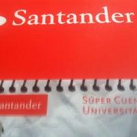 Photo taken at Santander by Jorge C. on 11/18/2015