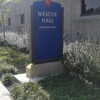 Photo taken at Wescoe Hall by Andy A. on 9/20/2016