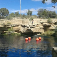Photo taken at Blue Hole by Andy A. on 10/9/2016