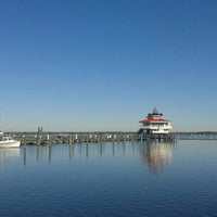 Photo taken at The Choptank River Lighthouse by Andy A. on 1/6/2016