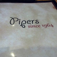 Photo taken at Pipers Restaurant by CoatHanger B. on 1/26/2013