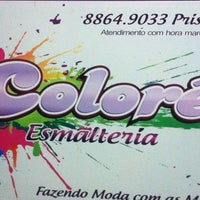 Photo taken at Colorê Esmalteria by Thay S. on 9/7/2013