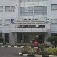 Photo taken at Pusat Teknologi Informasi dan Komunikasi Nasional by Inayamsa I. on 9/23/2013