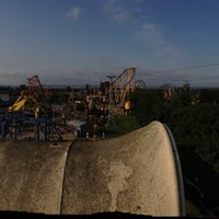 Photo taken at Dinostone Park @ Flamingoland by Spencer H. on 8/25/2013