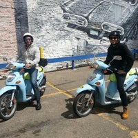 Photo taken at ScooTours Denver Scooter Rental by David S. on 4/5/2014