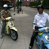 Photo taken at ScooTours Denver Scooter Rental by David S. on 6/3/2013