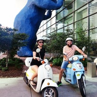 Photo taken at ScooTours Denver Scooter Rental by David S. on 9/19/2014
