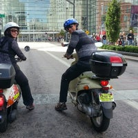 Photo taken at ScooTours Denver Scooter Rental by David S. on 10/27/2014