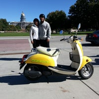 Photo taken at ScooTours Denver Scooter Rental by David S. on 10/17/2014