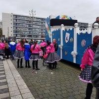 Photo taken at Van Grunsvenplein Heerlen by Josette V. on 2/11/2018