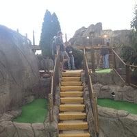 Photo taken at Professor Hackers Lost Treasure Golf by Dan M. on 11/2/2013