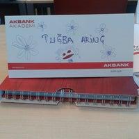 Photo taken at Akbank Akademi by Tugba A. on 1/7/2015