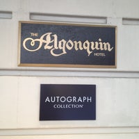 Photo taken at The Algonquin Hotel Times Square, Autograph Collection by Billy B. on 10/22/2012
