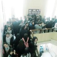 Photo taken at Zeynep Kamil Anadolu Sağlık Meslek Lisesi by Esma B. on 1/7/2014