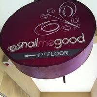 Photo taken at Nail Me Good by Aliph R. on 4/25/2013