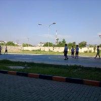 Photo taken at Lapangan Basket Sekolah Nasional Plus Cinta Budaya by Winston K. on 5/31/2013