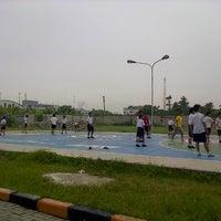 Photo taken at Lapangan Basket Sekolah Nasional Plus Cinta Budaya by Winston K. on 5/30/2013