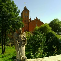 Photo taken at Замок Радомиcль / Radomysl Castle by Yuriy on 5/1/2013