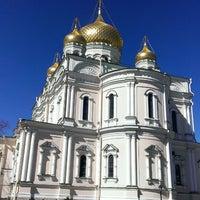Photo taken at Воскресенский Новодевичий женский монастырь by Гепа on 5/3/2013