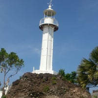 Photo taken at Bagatao Island Lighthouse by Fred I. on 4/22/2014